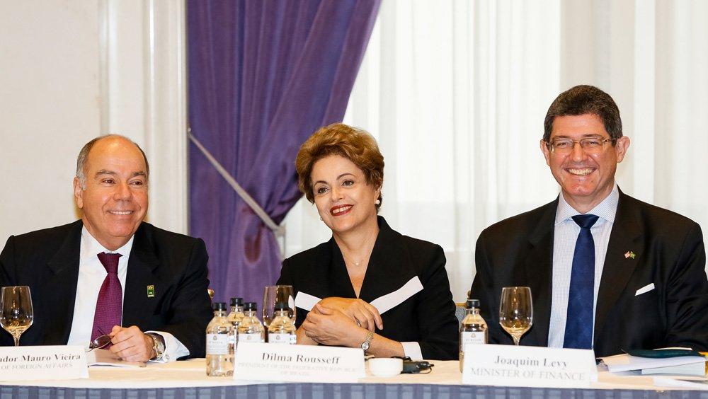 Nova Iorque - EUA, 29/06/2015. Presidenta Dilma Rousseff durante encontro com empresários do setor produtivo. Foto: Roberto Stuckert Filho/PR