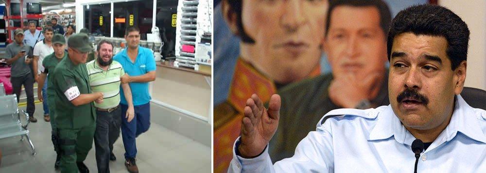 """Segundo Luís Mota Domínguez, intendente da Proteção dos Direitos Socioeconômicos da Venezuela, as detenções ocorreram no âmbito da nova """"ofensiva econômica"""" lançada pelo governo do presidente Nicolás Maduro"""