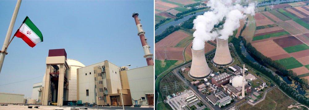 Moscou ajudou Teerã a implantar a única central nuclear que o país detém, situada em Bushehr, cidade que acolherá as outras duas; devido à oposição do Ocidente, a construção das centrais nucleares deverá demorar anos e está prevista para começar em abril