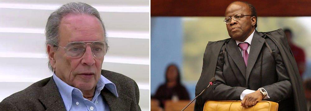 Segundo colunista da Folha, 'na primeira fase do julgamento do chamado mensalão, a ansiedade por condenação dos petistas traduziu-se também em complacência ou silêncio sobre as exaltações e agressividades de Joaquim Barbosa. Agora os comentários liberaram-se'
