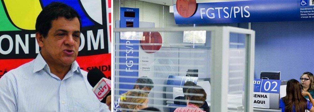 Governo tira dinheiro do FGTS para atender lobby das Santas Casas, denuncia dirigente da CUT