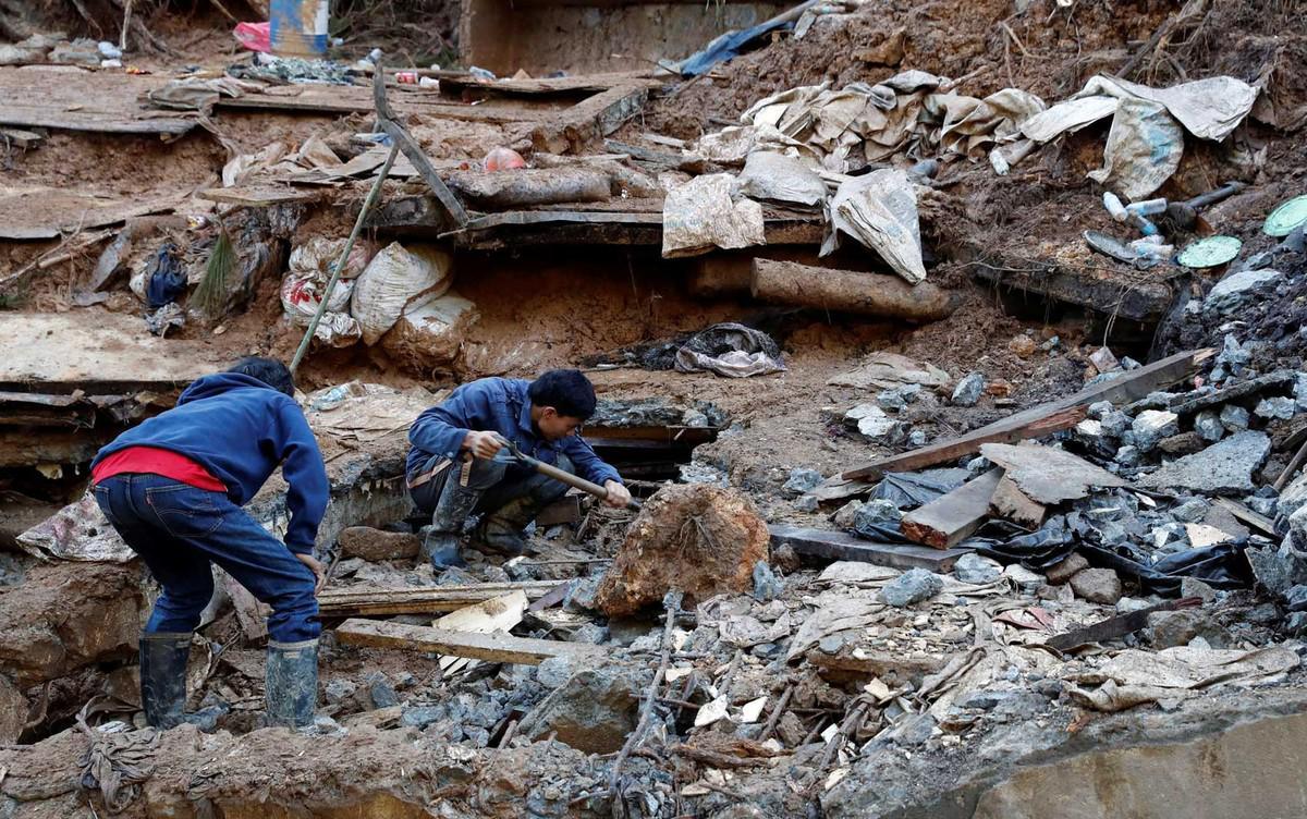 Sobe para 22 o número de mortos por conta de deslizamento nas Filipinas