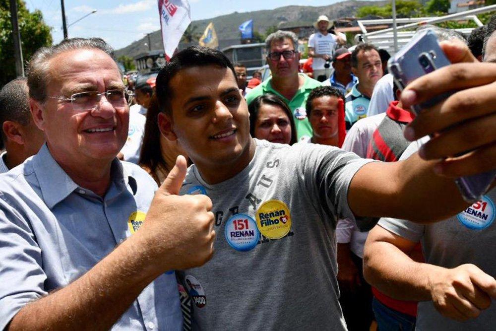 Ibope: Calheiros lidera corrida para o Senado em Alagoas