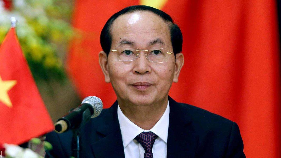 Morre o presidente do Vietnã, Tran Dai Quang