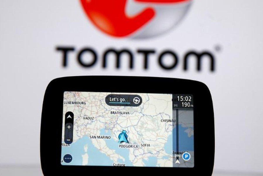 Ações da TomTom desabam após montadoras optarem por Google Maps