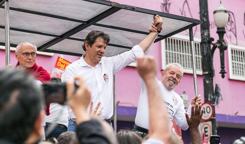 "TSE autoriza PT a dizer que ""Haddad é Lula"""