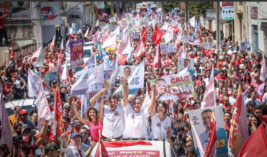 Ibope: Haddad salta 28 pontos e lidera com 33% na Bahia