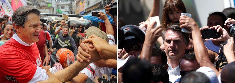 Há uma 'tripartição' no cenário eleitoral brasileiro, dizem diretores do Datafolha