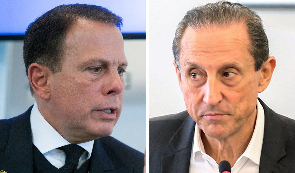 Doria e Skaf aparecem empatados em pesquisa para governo de São Paulo