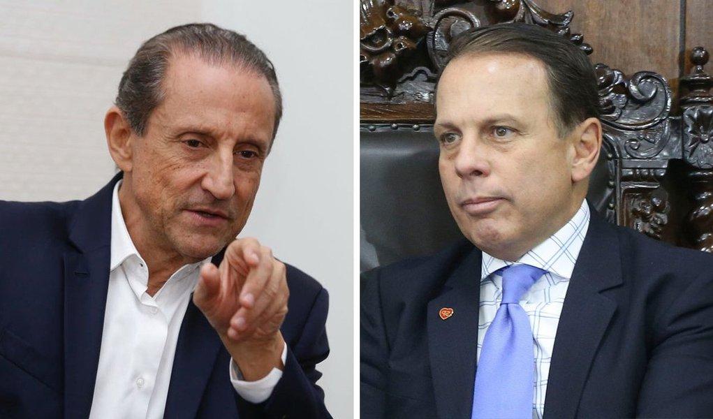 Ibope em São Paulo: Doria já perde para Skaf no segundo turno
