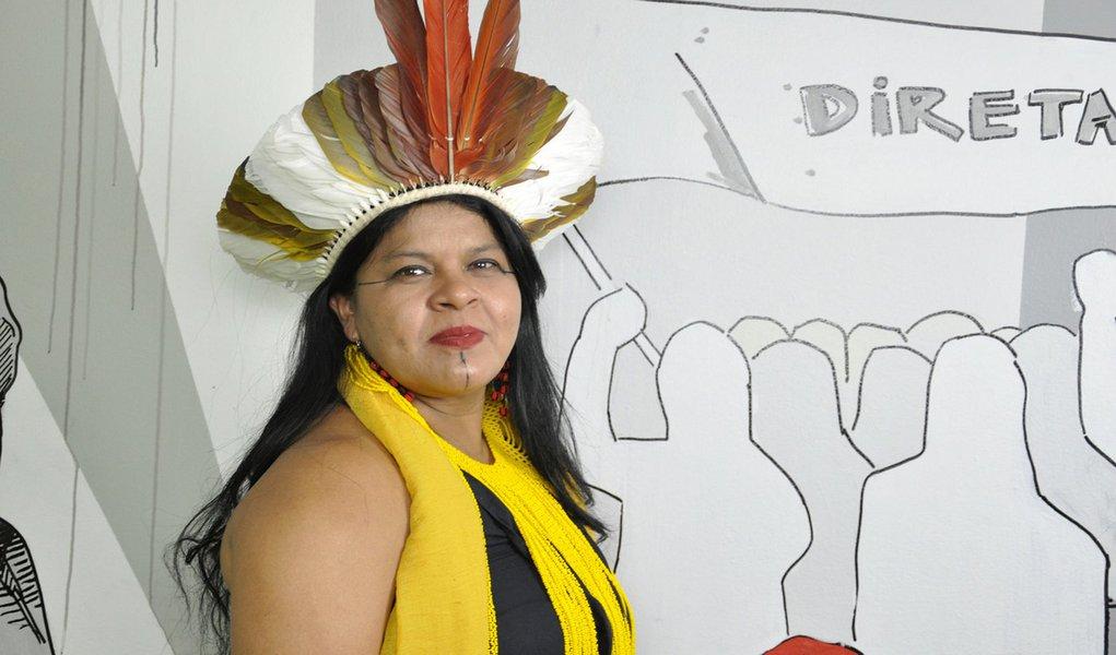 Sônia Guajajara: nossa chapa é a união da luta do campo e da cidade