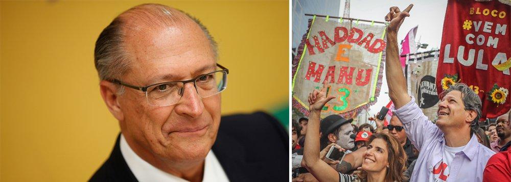 Alckmin reconhece: Haddad está no 2º turno