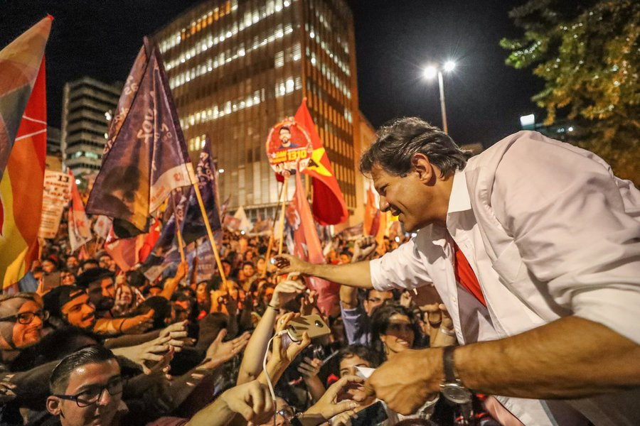 Haddad cresce e se qualifica como líder contra Bolsonaro