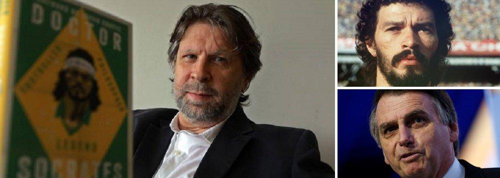 Apoio de jogadores a Bolsonaro deixaria Sócrates chocado, diz biógrafo