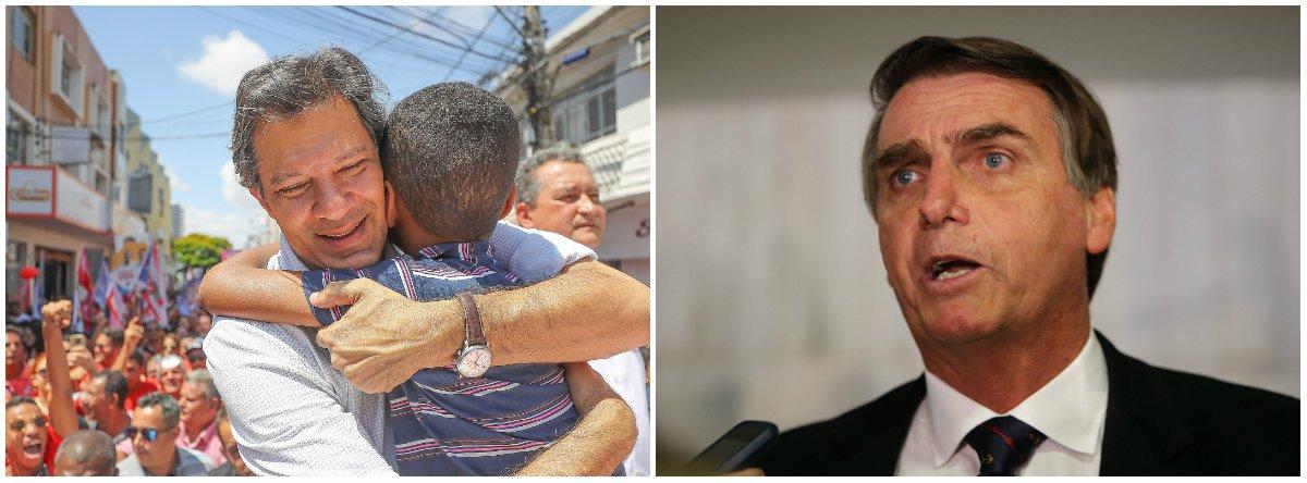 Haddad vai passar Bolsonaro no próximo Ibope