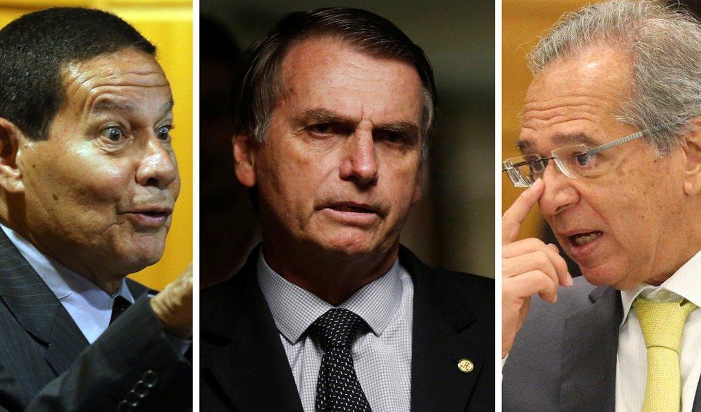 Bolsonarismo em crise: Mourão contesta Paulo Guedes e volta da CPMF
