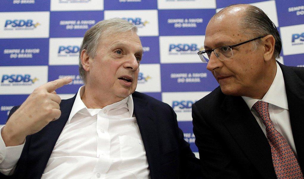 Alckmin  diz que críticas de Tasso ao comportamento do PSDB foram 'sinceras'