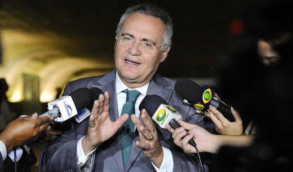 PF diz que Renan recebeu propina na Suíça e o acusa de corrupção