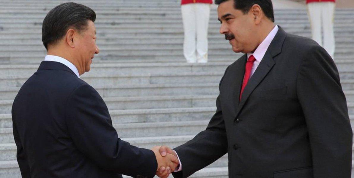 China concede à Venezuela empréstimo de US$ 5 bi e apoio para recuperação