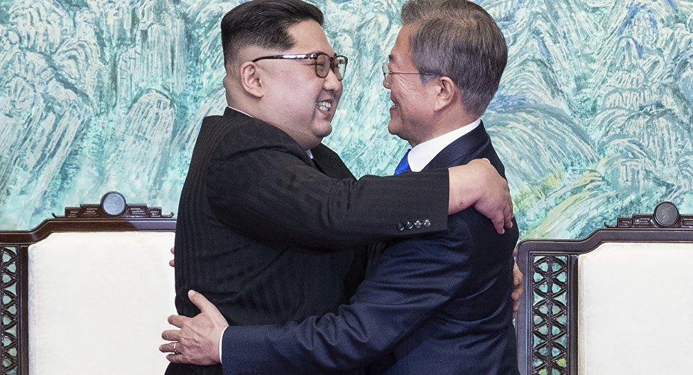 Duas Coreias assinam acordo militar e uma declaração conjunta