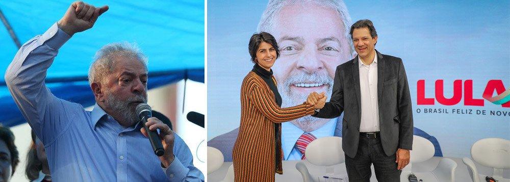 Ibope atesta que Lula, preso político, comanda eleição da cadeia