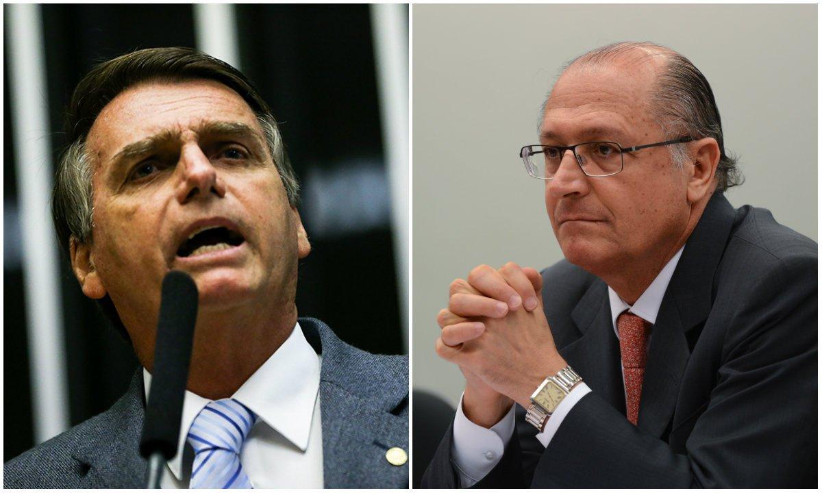 Bolsonaristas já falam em enterro de Alckmin