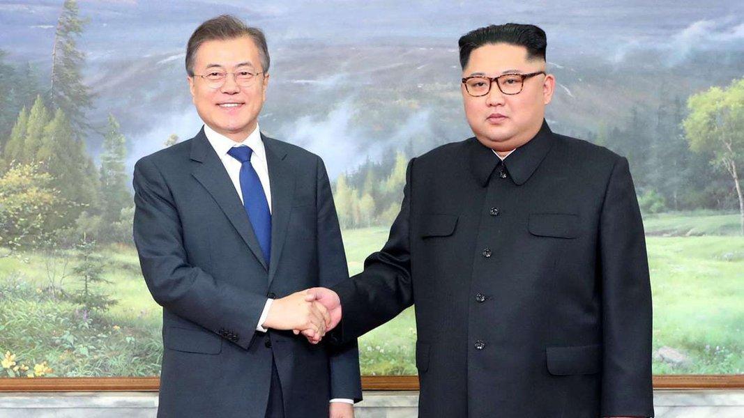 Presidentes das duas Coreias concluem primeira rodada de consultas