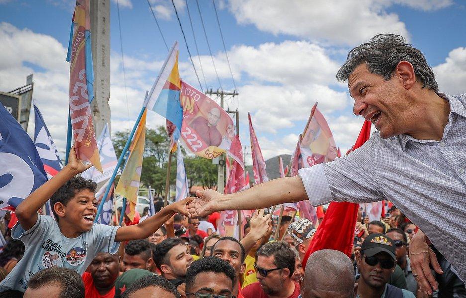 Piauí foi o estado que mais votou em Fernando Haddad