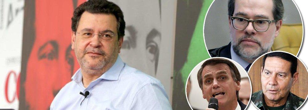 Rui Costa Pimenta: os militares estão com a faca e o queijo na mão