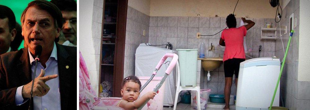 Bolsonaro: PEC das Domésticas causou desemprego no país; não é verdade