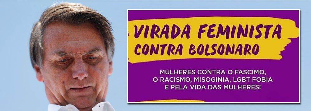Movimento de mulheres contra Bolsonaro define evento em Salvador