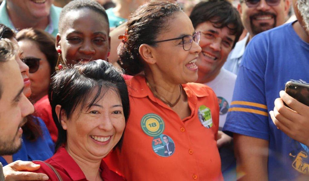Marina promete gerar 2 milhões de empregos com energia renovável