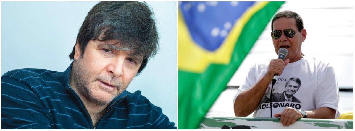 Rubens Paiva repudia Mourão: sou desajustado porque meu pai e meu avô morreram?