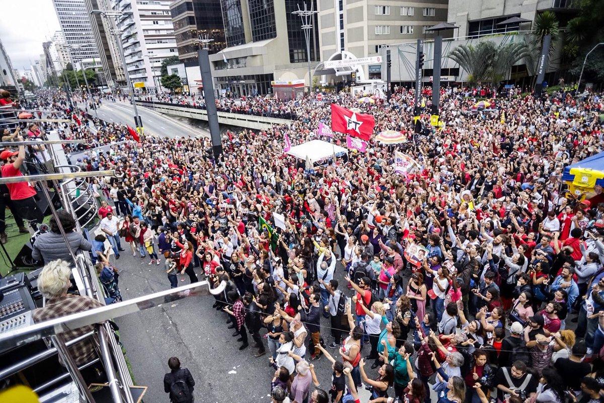 """Frente Brasil Popular repudia multa ao Festival Lula Livre: """"perseguição política"""""""