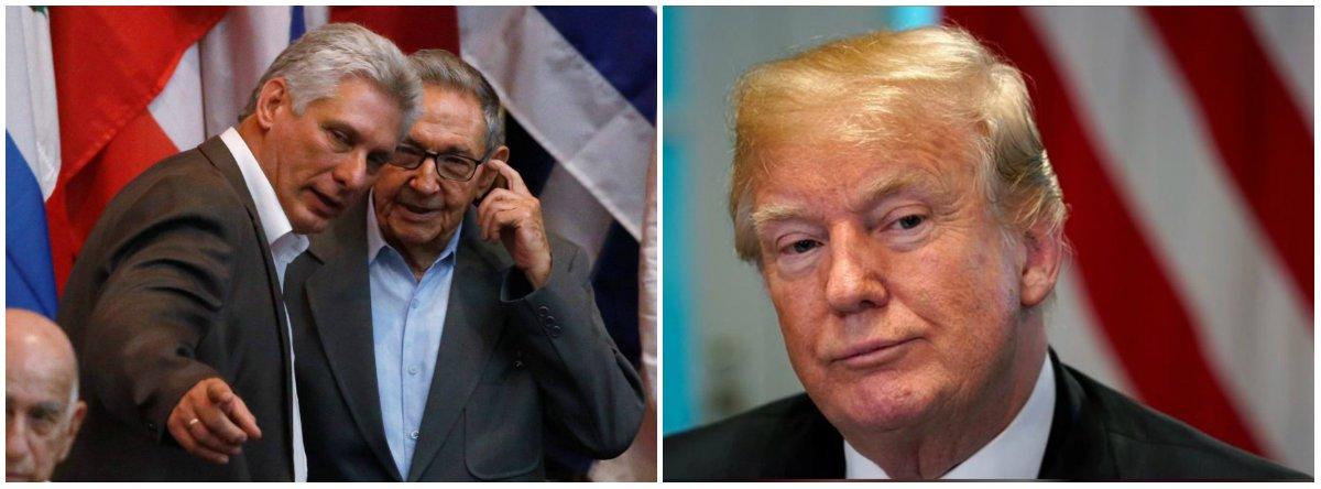 Embargo endurece na gestão Trump e Cuba busca apoio para votar seu fim na ONU