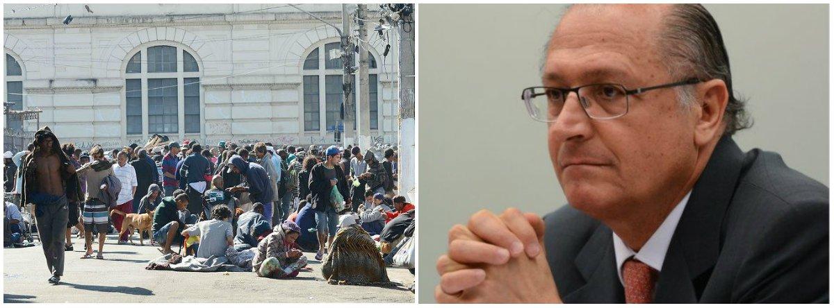 Programa de Alckmin deixou 52 mil usuários de drogas sem acolhimento
