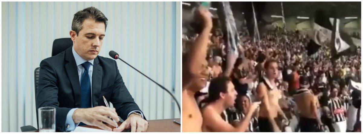 STDJ prepara denúncia contra o Atlético-MG por canto homofóbico