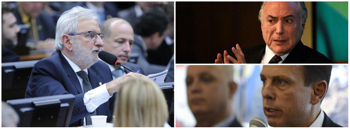 Valente: prefake Doria é desmascarado até pelo presidente mais impopular da história do País