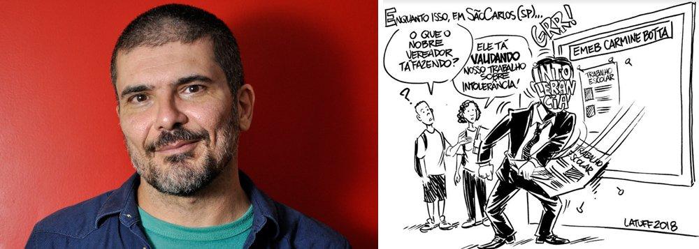 Latuff repudia ação polêmica de vereadores em escola: 'intimidação não vai nos calar'