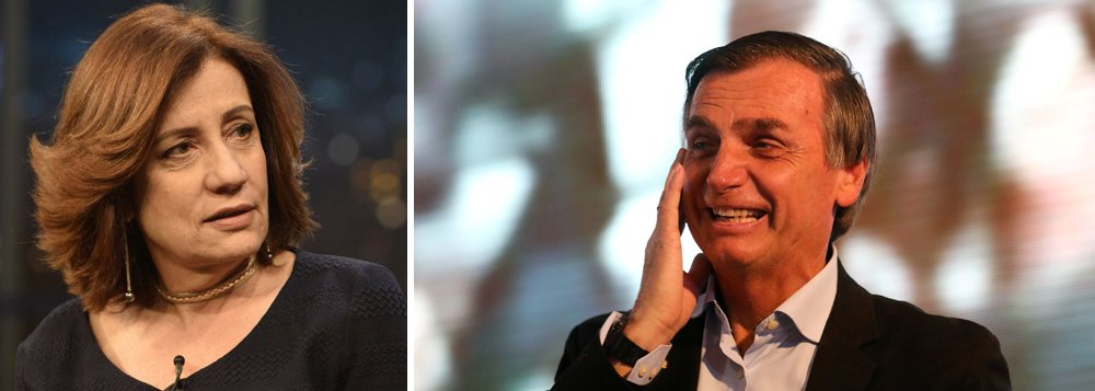 Campanha de Bolsonaro é um vazio de ideias, diz Miriam Leitão