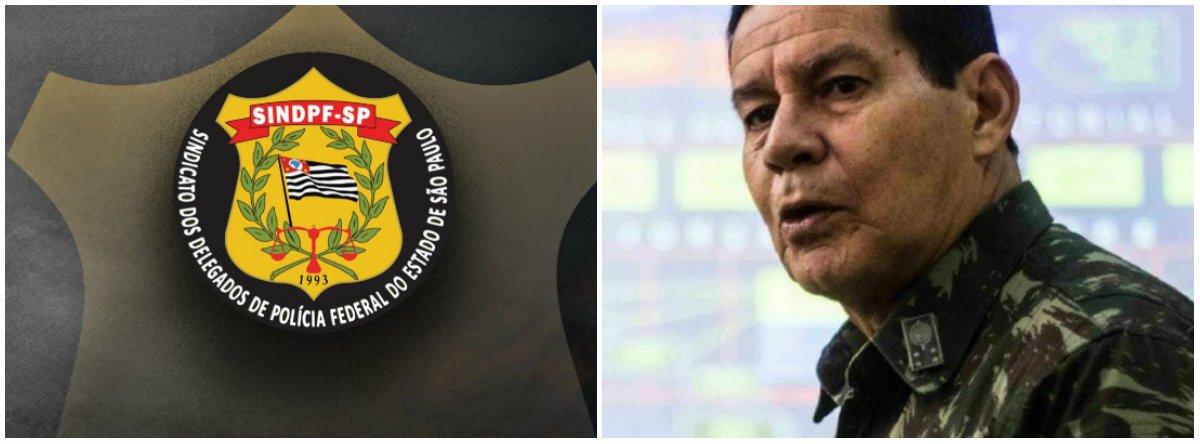 Sindicato de delegados manda recado a Mourão: Brasil não precisa de uma Constituição outorgada