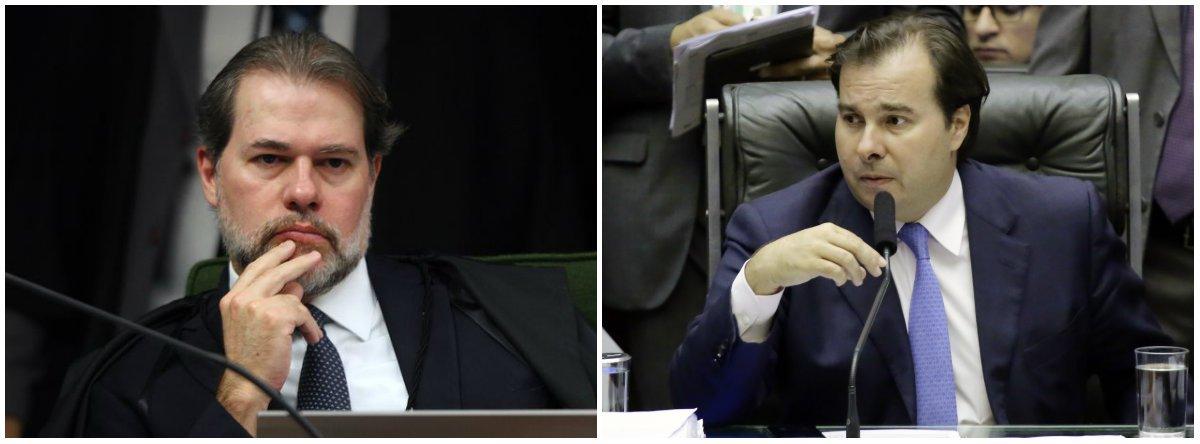 Toffoli discute com Maia verba para campanhas, aborto e perda de mandato