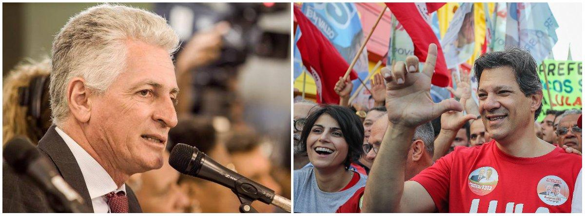 Após Vox Populi, Correia presta apoio a Haddad: é só o começo