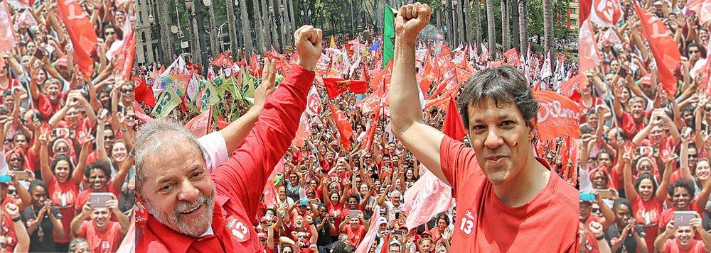 Vox Populi: Haddad já assume liderança com 22%