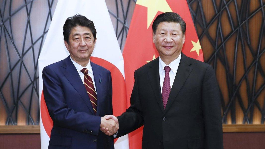 China e Japão buscam aproximação e melhoria de relações