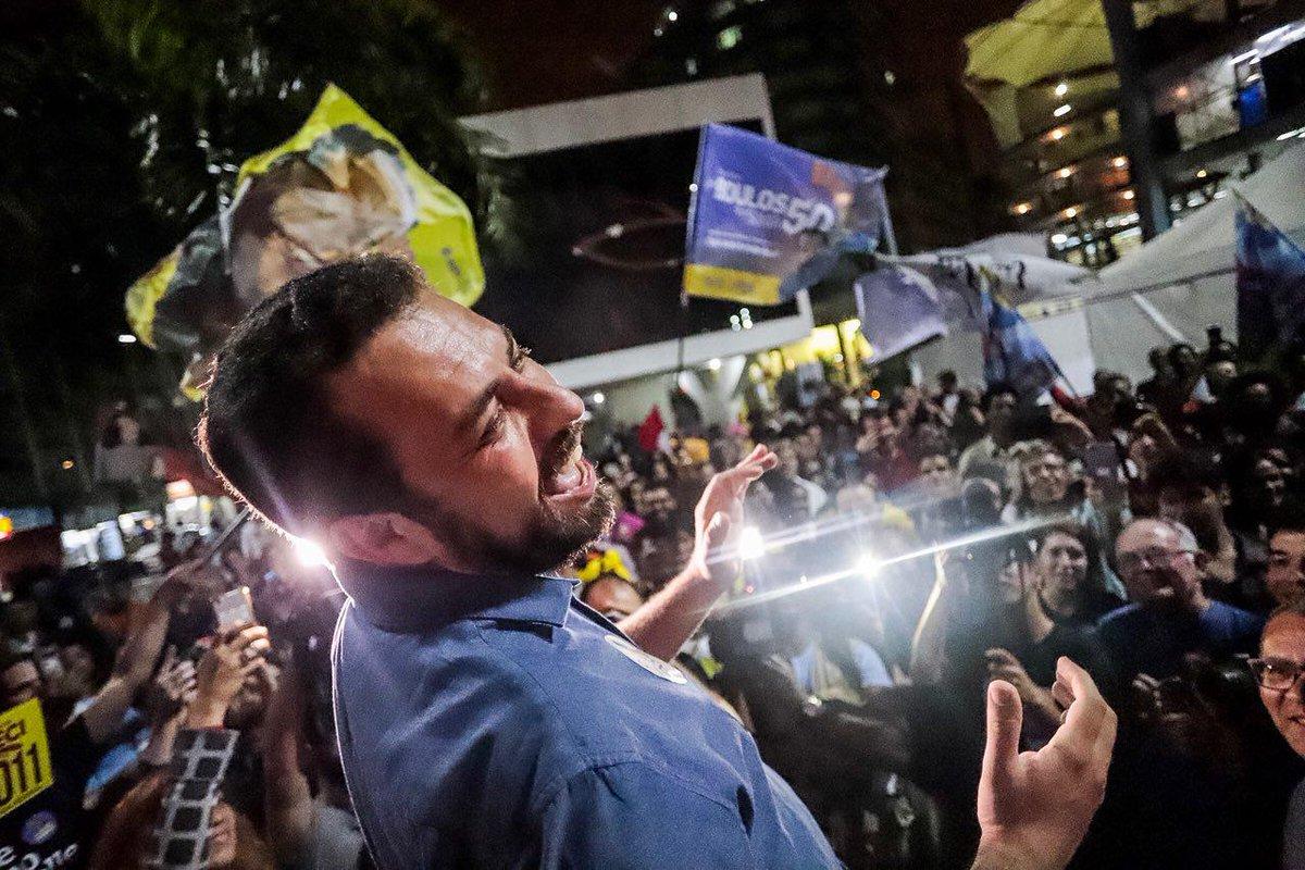 Boulos sobre Bolsonaro: cada um tem o vice que merece