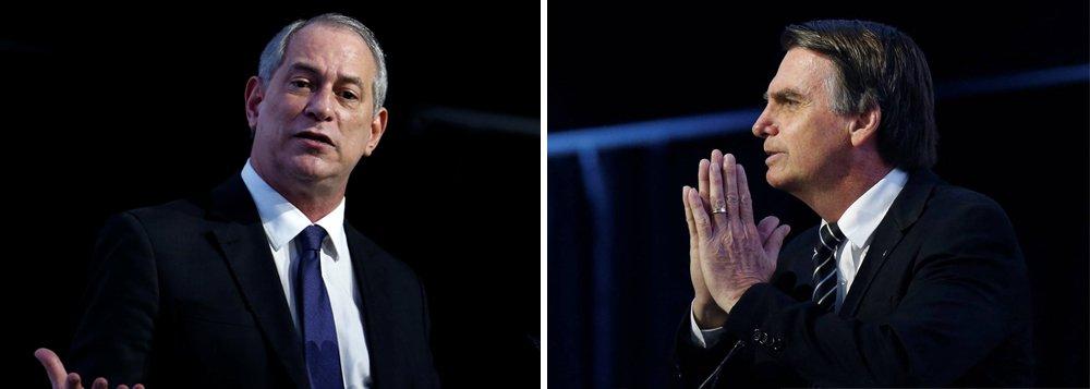 Ciro: 'se Bolsonaro ganhar, choro e saio da política'