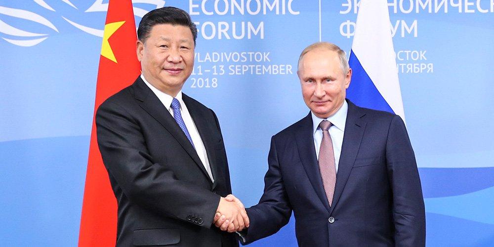 Xi Jinping e Putin se reúnem para defender cooperação, paz e estabilidade para o mundo