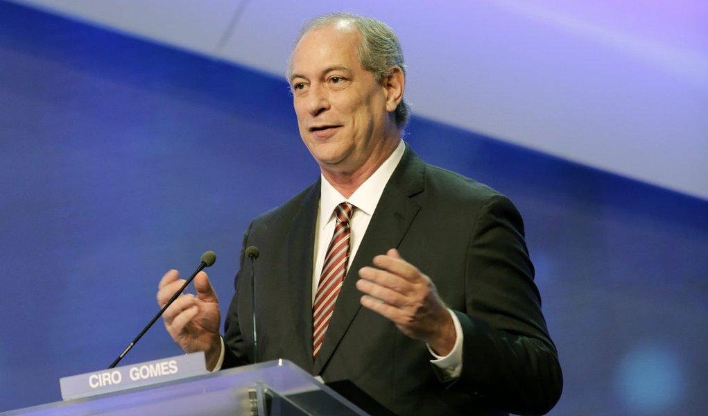 Ciro: Modelo econômico de Alckmin é o mesmo de Temer