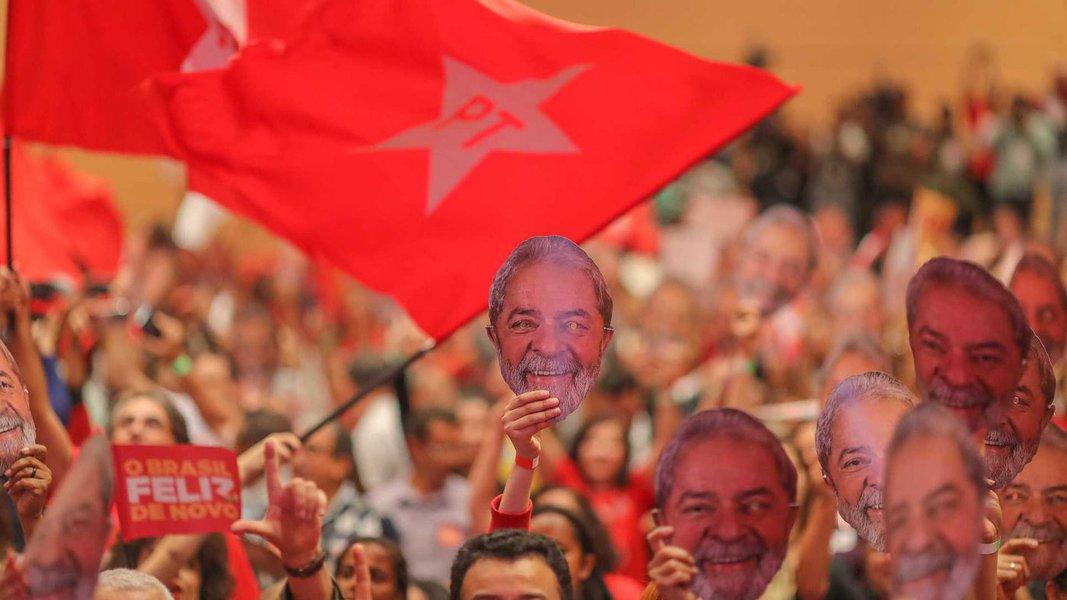 Datafolha: PT é o partido preferido de 21%; PSDB, 3%